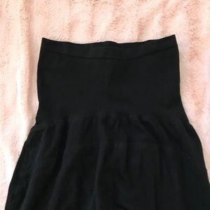 Motherhood black stretchy   comfy maternity pants